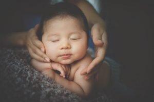 masajes para relajar a bebés